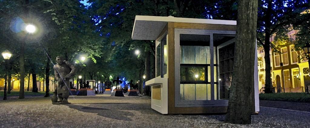 MiniMono op Lange Voorhout, Den Haag